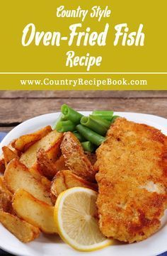 Easy recipe for Oven-Fried Fish. Make delicious breaded fish fillets right in the oven.