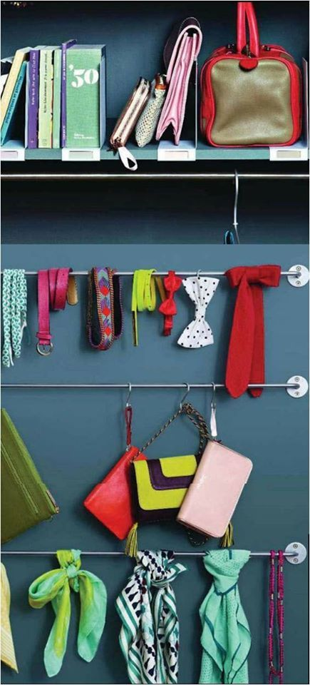 Organise your #stuff in style. Will you try this?  Image courtesy - Charlotte
