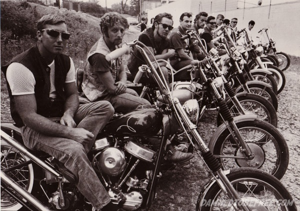Outlaw MC Club Panhead Chopper Beatniks 1969 | Cars and ...