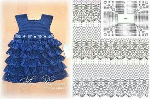 203 best tejido (crochet) images on Pinterest | Patrones de ...