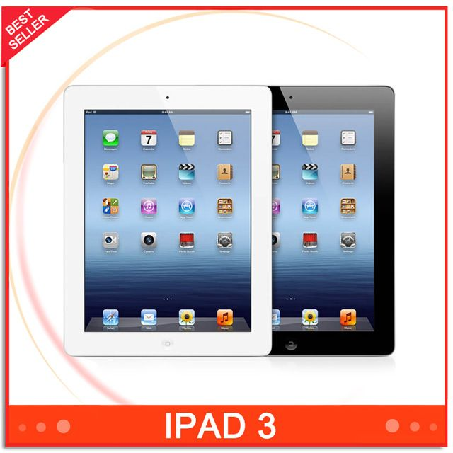 "Cheapest Tablet Apple iPad 3 9.7"" Dual Core iOS 1GB RAM 16GB/32GB/64GB ROM 1536*2048 5MP Multi-language Multi Touch  US $198.36-231.56 /piece To Buy Or See Another Product Click On This Link  http://goo.gl/EuGwiH"