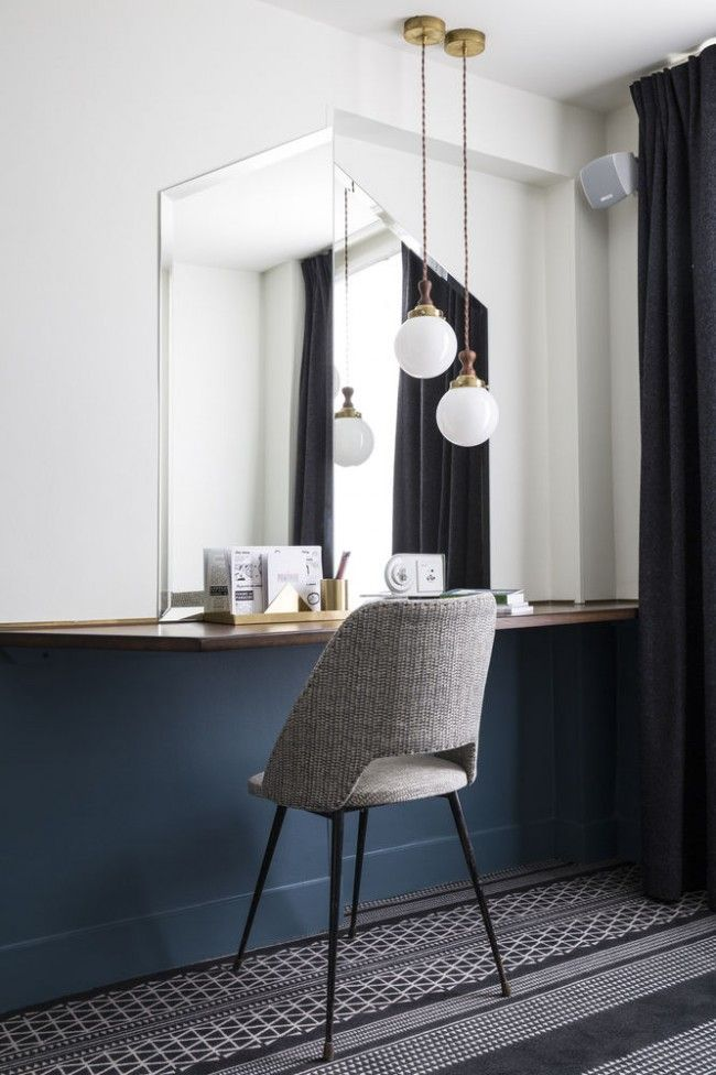 Pin von auf mirror pinterest for Hotel design paris 6