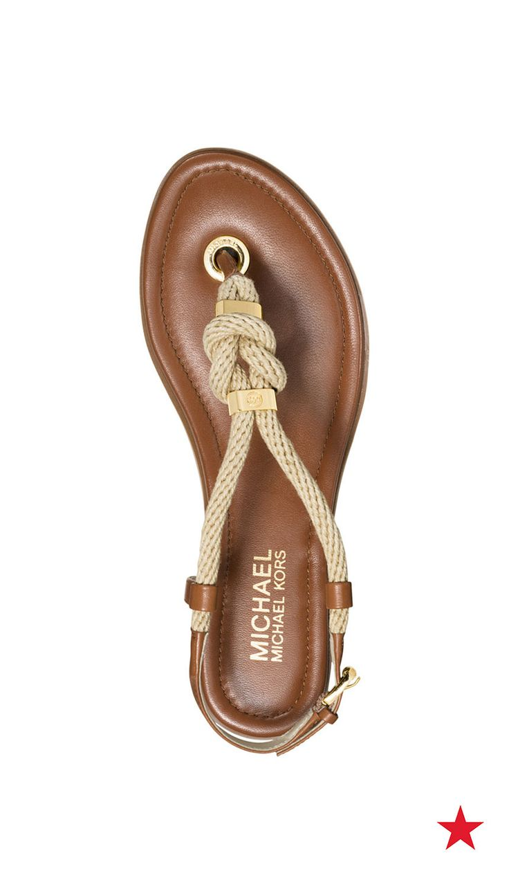 Shoes online � Going a cruise? From ship to shore, the rope detail on these  leather Michael