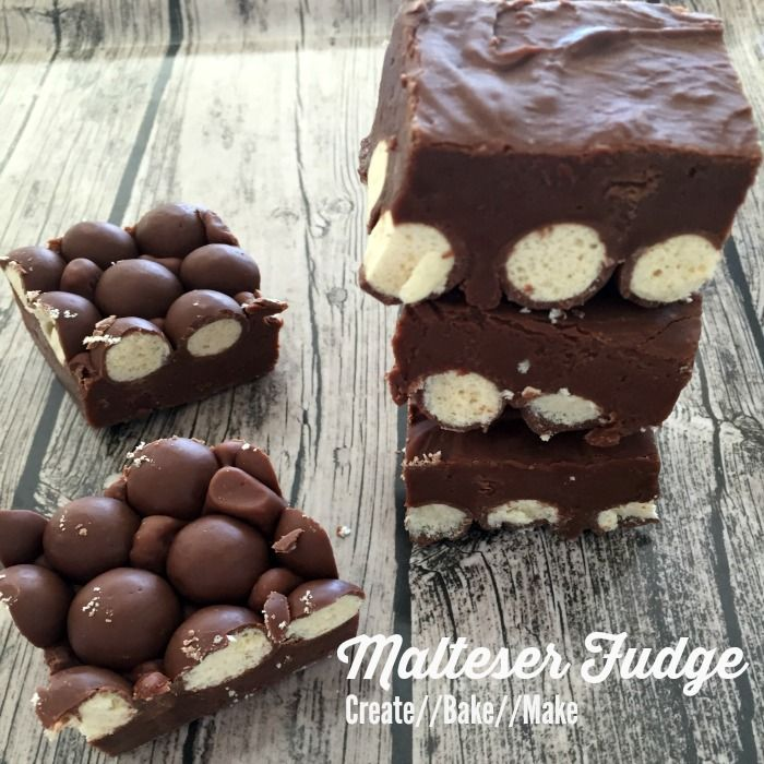 Malteser Fudge