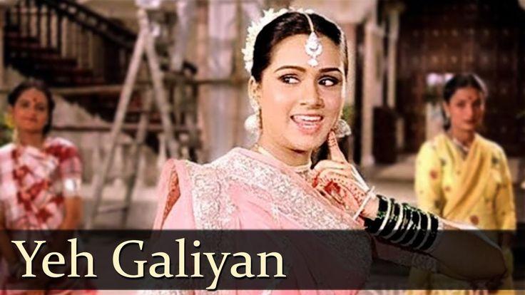 Yeh Galiyan Yeh Chaubara - Padmini Kolhapure - Rishi Kapoor - Prem Rog Songs - Bollywood Songs