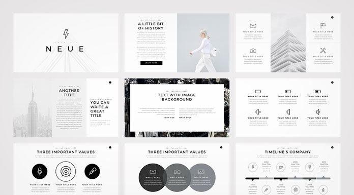 Image Result For Minimalist Design Presentation