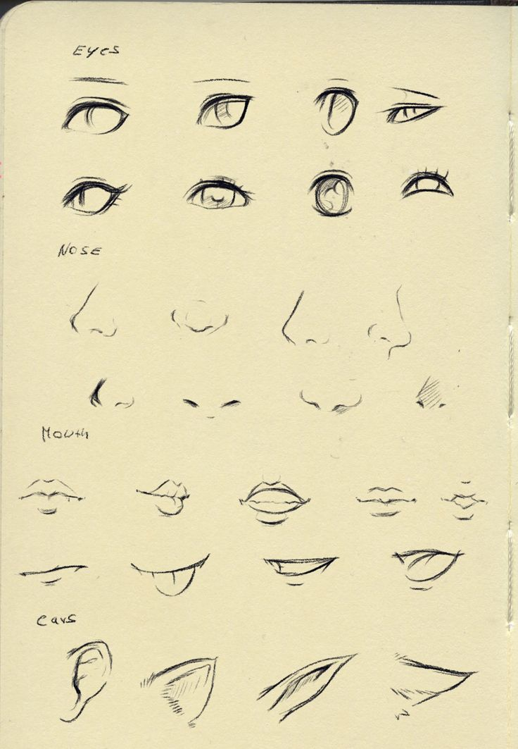 Eyes/nose/mouth tutorial