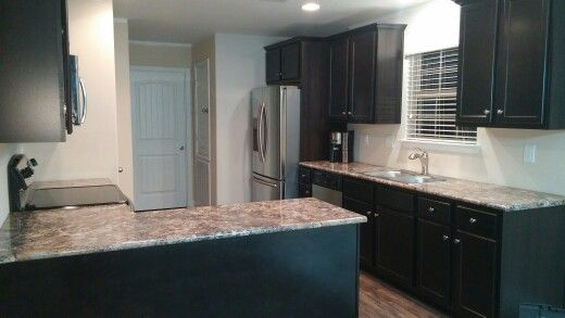 Dark Cabinets Amp Winter Carnival Countertops New House