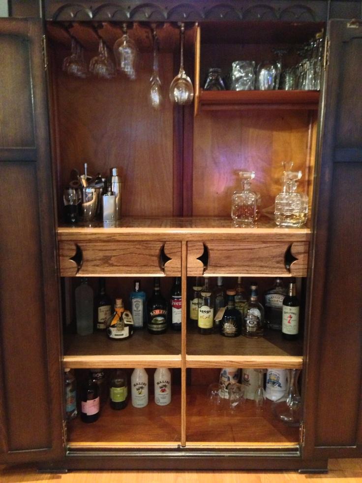 Armoire Bar #Armoire #Bar