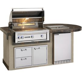 Do you dream of an outdoor kitchen but don 39 t have the for Pre built outdoor kitchens