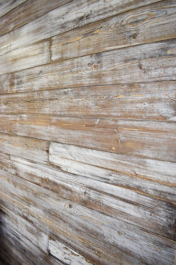 Shiplap Wall Planks – Weathered White/Brown, Shiplap Wall, Farmhouse shiplap, wainscoting, wall coverings, bead board, Shiplap signs