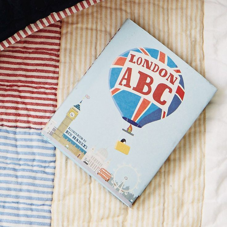 London ABC Mini Book from The White Company   Mini books. Books. Abc