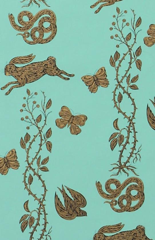Anthropologie wallpaper patterns Pinterest
