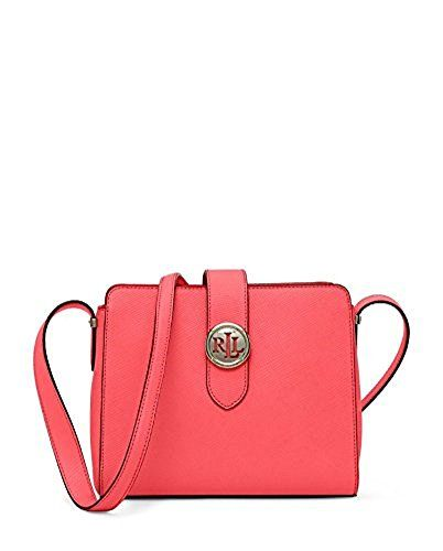 49ac79962cdf LAUREN RALPH LAUREN Charleston Textured Leather Crossbody Bag ...