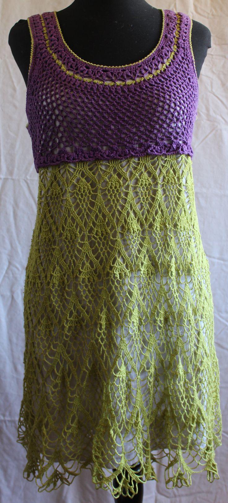 crochet, con colores distintos.