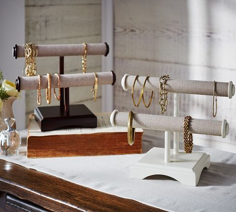 Andover Tall Jewelry Box | /potterybarn/ #organize