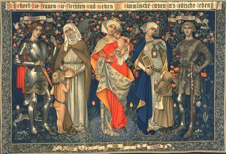 Ehret Die Frauen, 1912 Morris and Company (Merton Abbey)