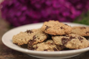 low fat chocolate chip cookies!
