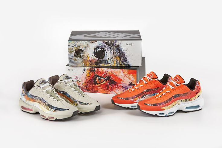 newest b9028 24308 ... Abstract Wildlife On The Dave White x Nike Air Max 95 Albion Pack   Nike  Air . ...