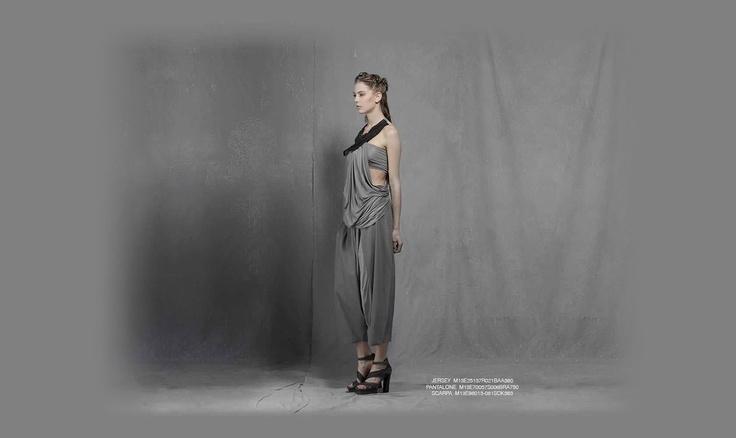 Malloni Black Collection S13 #jersey #trousers #pants #shoes #pantalone #scarpa