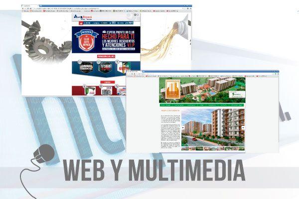 Web y multimedia.