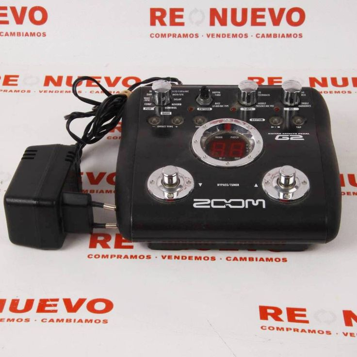 Pedal  ZOOM G2 E269639 de segunda mano #pedal #musica #segundamano