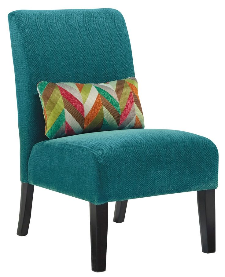 Annora Teal Accent Chair, 6160460, Ashley Furniture