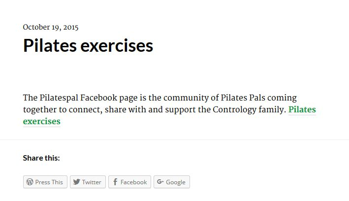 The Pilatespal Facebook page is the society of Pilates Pals coming all together to connect, share with and support the Contrology family.