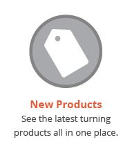New woodturning products from Craft Supplies USA --- We offer the largest selection of woodturning supplies in the industry. #woodturning #supplies #newproducts #penturning #penmaking #projectkits #tools #chucks #jaws