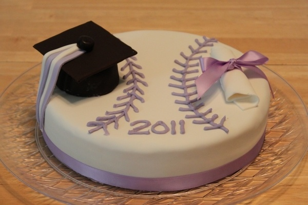 Graduation Birthday Cake Design : Softball Graduation Cake Cakes Pinterest Cake ideas ...