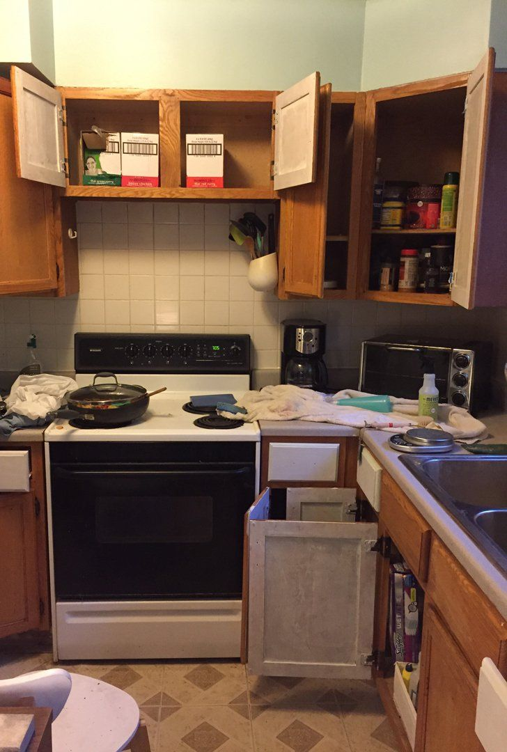 100 of upgrades made this rental kitchen unrecognizable