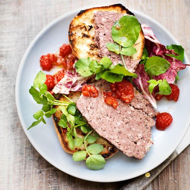 #recept #wild Salade van wilde ganzenpaté