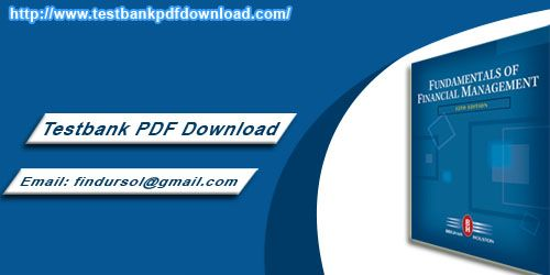 Test Bank PDF Download