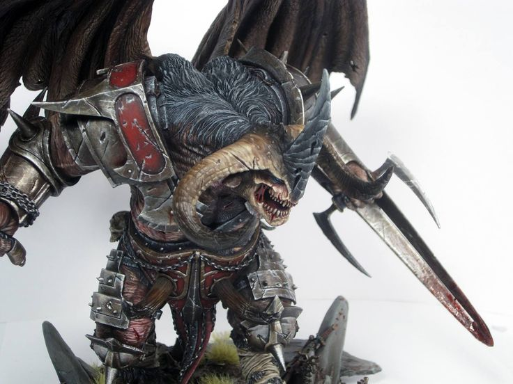 Krull Servile Lord of Dis, From Mierce Miniatures.
