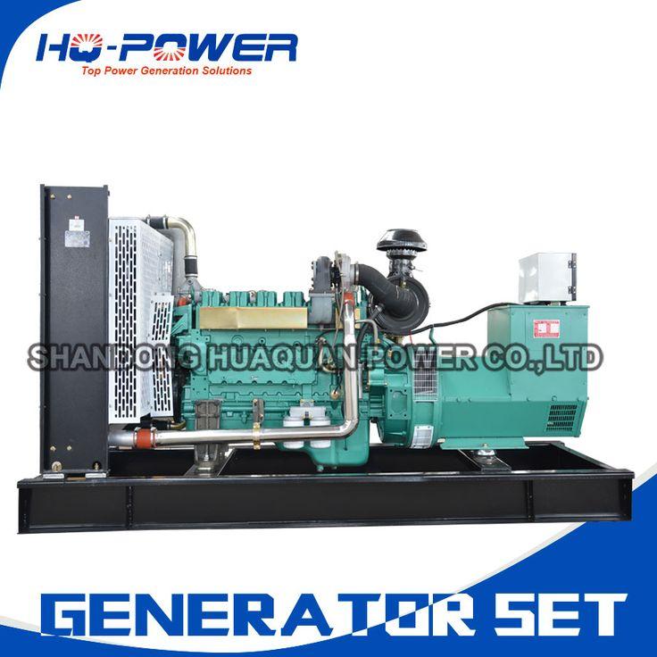 commercial generators low price high quality  250kva magnetic generator set