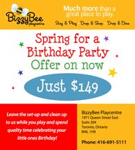 Bizzy Bee Playcentre -- Home