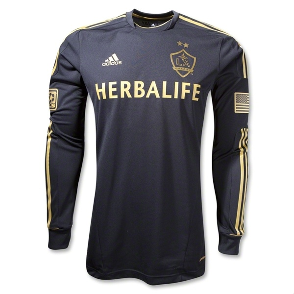 ... Soccer Shirt for 16 on Soccer777.net adidas LA Galaxy Navy 2017  Secondary Authentic Custom Jersey Long Sleeve LA Galaxy Third Jersey ... 8cc2a8b87