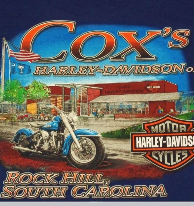 Cox's Harley Davidson!! Awesome!