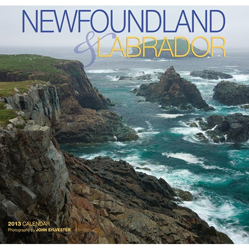 Newfoundland and Labrador Wall Calendar: Photographer John Sylvester's images of stunning vistas, wave-carved coastlines and the places where Newfoundland & Labrador's people live and work have been assembled for your pleasure in this 16-month calendar.  http://www.calendars.com/Canada/Newfoundland-and-Labrador-2013-Wall-Calendar/prod201300000216/?categoryId=cat00704=cat00704#