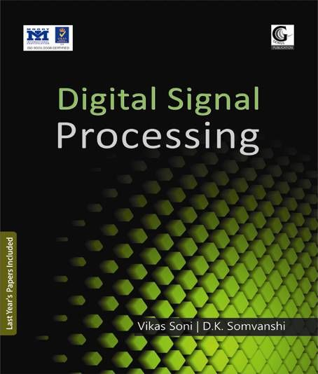 Contents: 1. Introduction to Discrete-Time Signals and Systems 2. Linear Time Invariant (LTI) Systems 3. Discrete Time Fourier Transform (DTFT) 4. The z-Transform 5. Sampling 6. Discrete Fourier Transform (DFT) 7. Structures For Discrete Time Systems 8. Filter Design Techniques P. Papers
