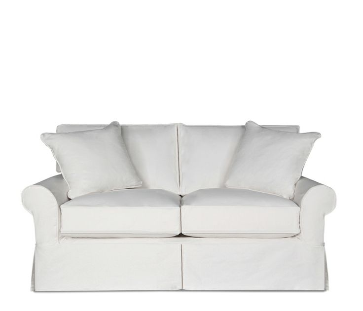 Hadley Slipcover Loveseat This Item May Be Custom Ordered In Over 400 Covers Furniture