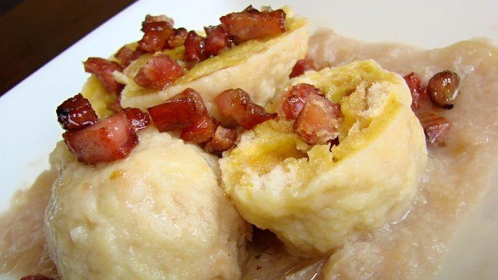Рецепты по четвергам. Клёцки, ньокки, галушки, вареники (43). Кнедлики