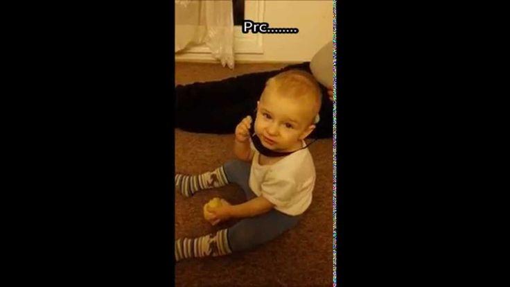 Baby gang -vtipné videa - Prdící video