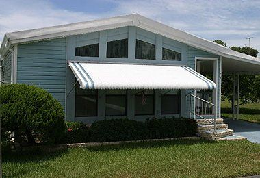 Aluminum Awnings from Conservation Concepts