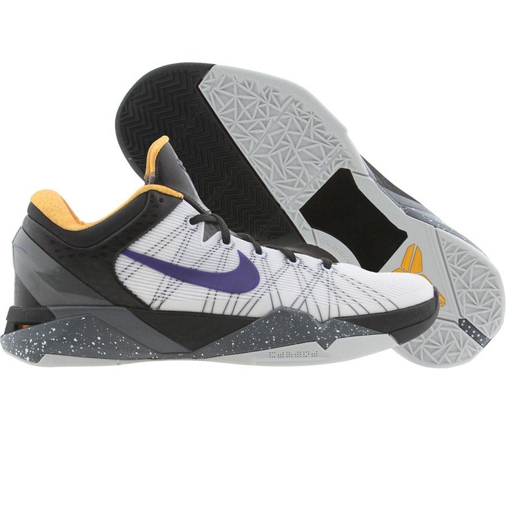 8998fc47e8d6 ... Nike Zoom Kobe VII System (white critical purple black university gold)  ...