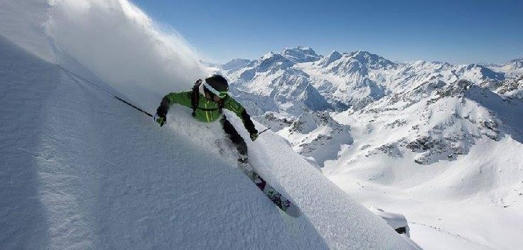 Extreme sports at Verbier