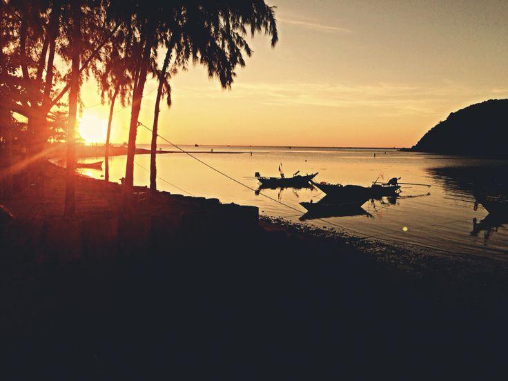 Thailand#KohPangan#sunset#amazing