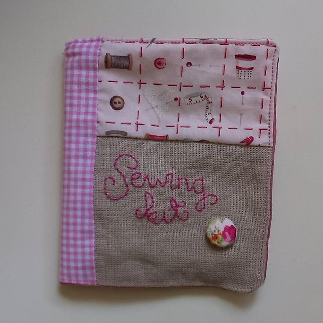 #needlebook Inspiration by @amysinibaldi #nanacompany #sweetlystitchedhandmades #tilda
