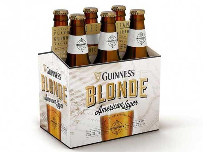 American and Irish tradition brought together with Guinness' new lager - IrishCentral.com