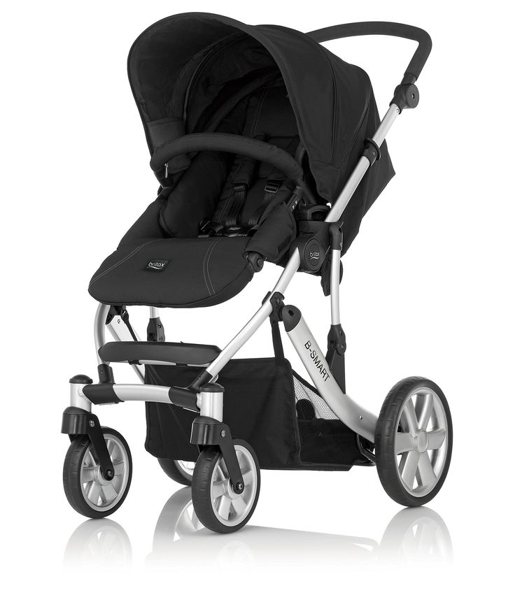 Britax B-Smart 4 Pushchair from Birth to 4 Years (Neon Black)